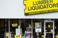 After Agreement, Lumber Liquidators' Stock Soars