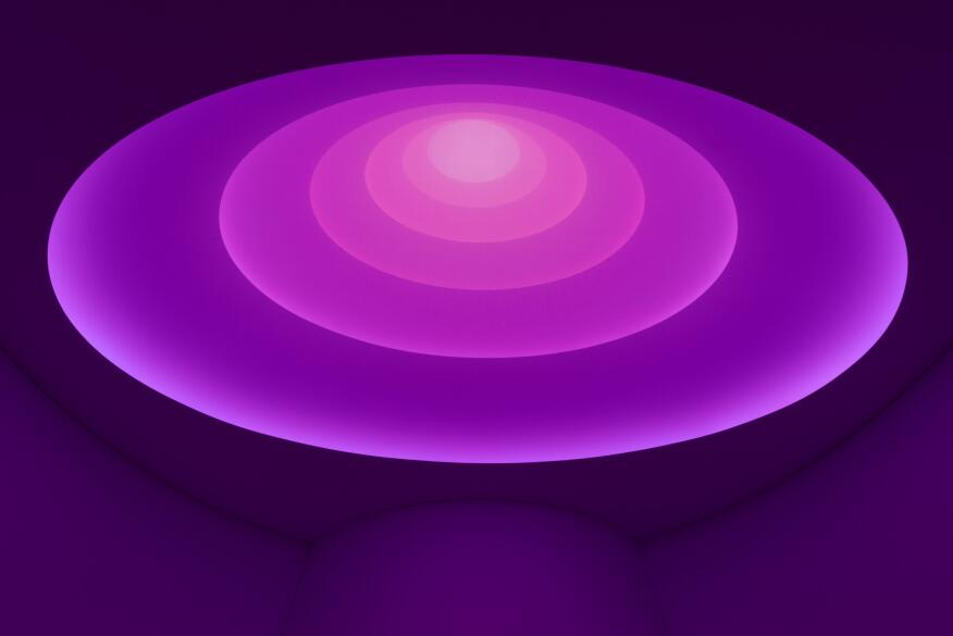 Aten Reign, 2013   Daylight and LED light, dimensions variable   © James Turrell   Installation view: James Turrell, Solomon R. Guggenheim Museum, New York, June 21–September 25, 2013