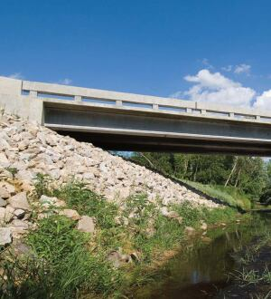 The two main uses in the domestic market are highway bridges.