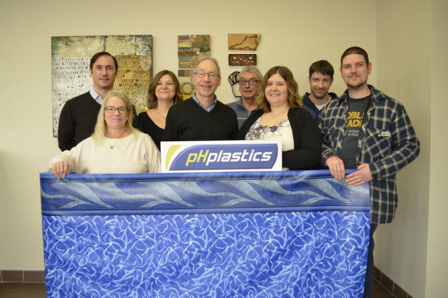 Members of the new joint venture, pH plastics.