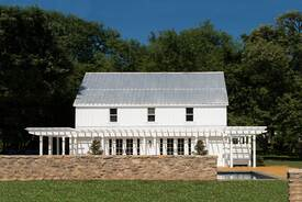 Farmhouse to Poolhouse Adaptive Reuse
