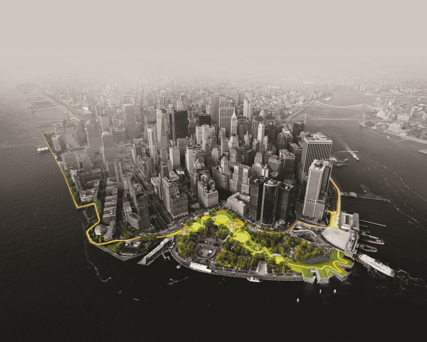 The BIG U, Bjarke Ingels Group (BIG), New York