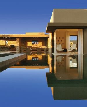 Reflecting Modernity Blue Heron specializes in contemporary  high-end design.