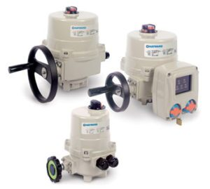 HRS Series Quarter Turn Electric Actuator family