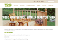 Wood Maintenance: Simpler Than You Think