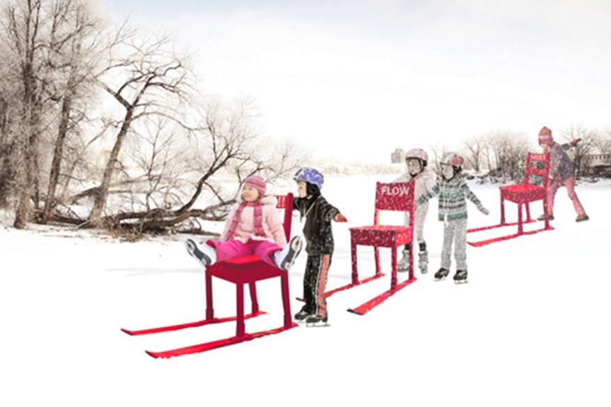 Installation Winner: Recycling Words - Design by KANVA