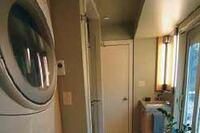 Expanding a Narrow Laundry Room