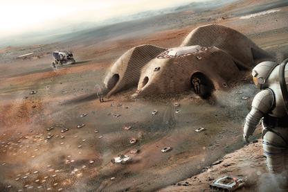 NASA 3D-Printed Habitat Challenge: Team Gamma