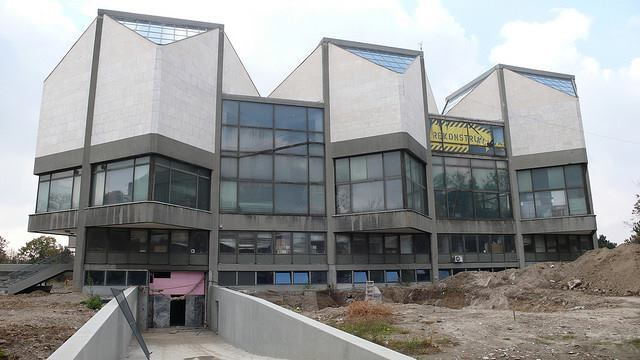 The Contemporary Museum of Art in Usce, circa November 2009, prior to renovations.