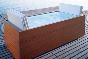 Indoor/outdoor pools by Duravit