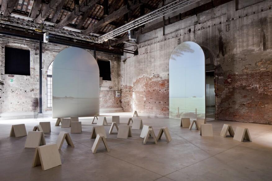 Milan architect Matilde Cassani's Background Bahrain, her design of the Bahrain Pavilion for the 2012 Venice Architecture Biennale.