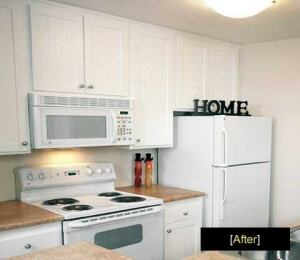 Essex Property Trust is known for its ability to update aging properties. It acquired this property, Avondale at Warner Center, in 1999 and is upgrading kitchen appliances, flooring, countertops, and more.