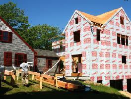 On the Job: Timber-Frame Look for a Stick-Frame Addition