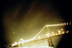 Untitled, Bay Bridge, a photo by Alexis Tjian from Geoff Manaugh's The BLDGBLOG Book.