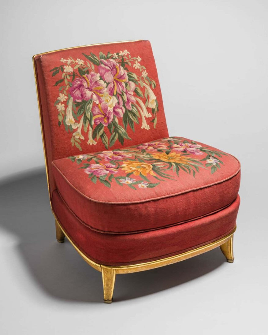 Jean Maurice Rothschild Side Chair From The Grand Salon On Board SS Normandie