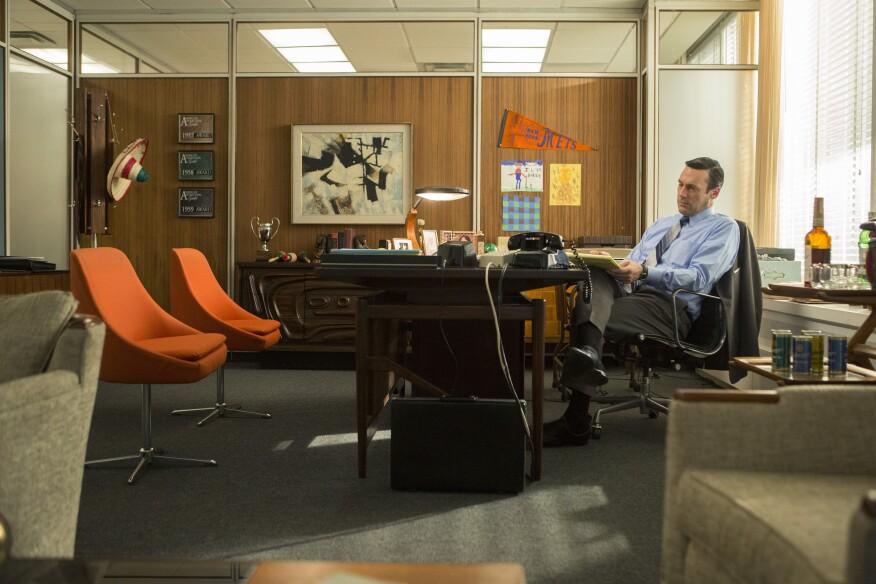 Jon Hamm as Don Draper - Mad Men _ Season 7B, Episode 10 - Photo Credit: Justina Mintz/AMC
