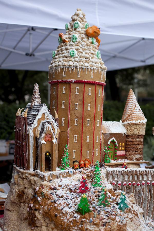 """Gensler's """"Hogwarts Castle"""" was 2nd Runner Up."""
