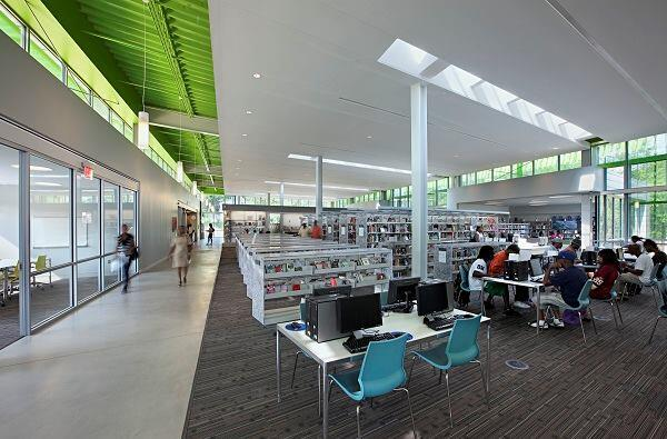 Anacostia Neighborhood Library; The Freelon Group; Washington, D.C.