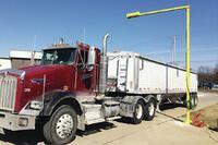 Walz 3D truck payload scanner