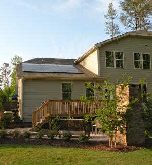 Meritage Homes is offering the Echo solar system as an option on its homes in the Research Triangle area of North Carolina.
