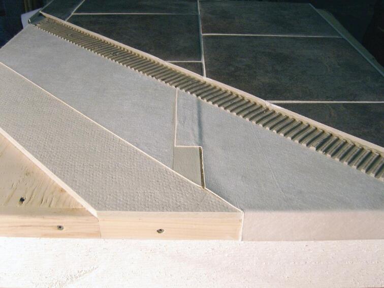 Duradek Tiledek Antifracture Membrane