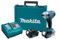 Launch Time 2009: Makita Three-Speed Cordless Impact Driver