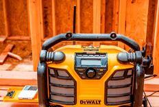 DeWalt and Makita Jobsite Radios