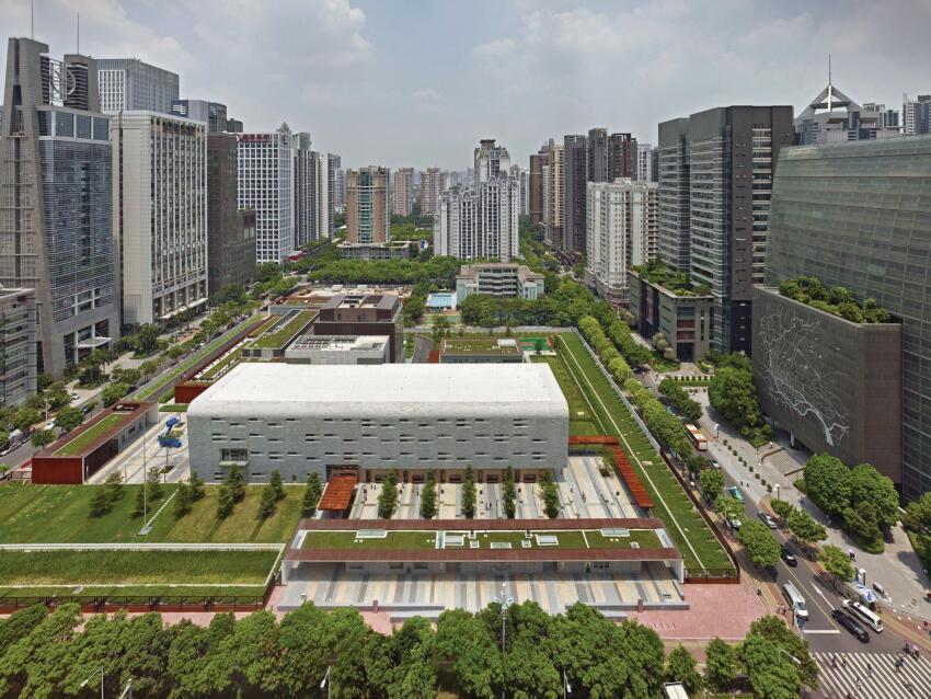 SOM's U.S. Consulate in Guangzhou, China.