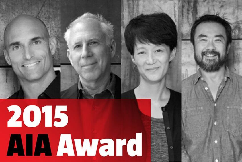Ehrlich Architects Wins the 2015 Architecture Firm Award
