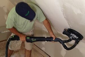 Take the Misery out of Drywall Sanding