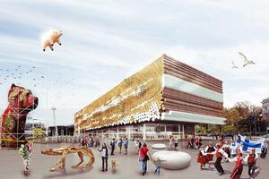 25 of the Strangest Entries in the Guggenheim Helsinki Design Competition