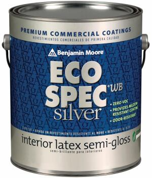 Benjamin Moore has introduced Eco Spec WB Silver, a zero-VOC paint formulated with elemental silver and other EPA-approved antimicrobial additives. It results in a dried surface that is resistant-even after repeated washings-to mold, fungus, and bacterial odors. Available in any of Benjamin Moore's color options, the paint is suitable for high-humidity and high-traffic commercial environments.  benjaminmoore.com