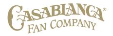 Casablanca Fan Co. Logo
