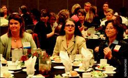 Women from all over the concrete and construction industry attended last year's  Women in Concrete Luncheon and Forum at World of Concrete. Turn to page 58 for  more on the next edition.