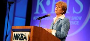 """[People] recognize that responsible environmental practices can be good business practices,"" Christine Todd Whitman told attendees at the Kitchen/Bath Industry Show."