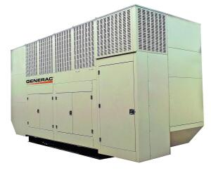 The Gemini Twin Pack, by Generac Power Systems, has a space-saving design that produces 1,000kW of power. Suitable for hospitals, airports, manufacturing plants, and data centers, it is powered by two 500kW gensets (each powered by a pair of Volvo 16L diesel engines) operating within a single attenuated enclosure. If one engine malfunctions, the other continues to provide power. With a footprint of 171 square feet, it has integrated digital controls for load sharing that eliminate the need for switchgear. An integrated PowerManager System Controller features load-shedding control and GenLink interface software. Seven Gemini units can be paralleled for applications requiring up to 7,000kW. generac.com