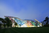 Daniel Buren Reimagines Frank Gehry's Fondation Louis Vuitton