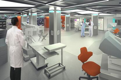 Surgical Research and Training Laboratory at the UIC College of Medicine