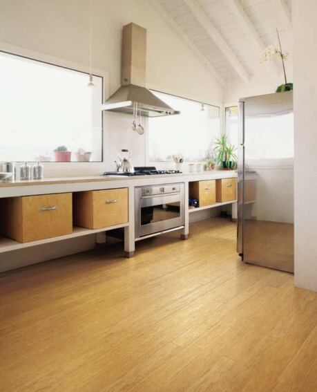 Woven Bamboo Flooring From EcoTimber