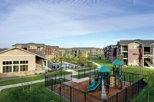 When LIHTC prices fell last fall, Citi bought 49% of the tax credits for Copper Valley, an affordable seniors housing community in Puyallup, Wash., and brought in an equity partner to purchase the other 51%. The project, expected to have begun construction in February, will be identical to Copper Peak Apartments (above), a sister property in Longmont, Colo., by the same developer, Inland Group.