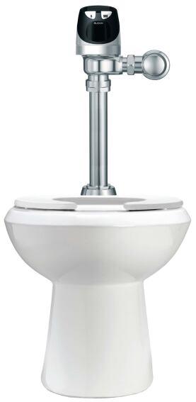 Solis flushometer from Sloan