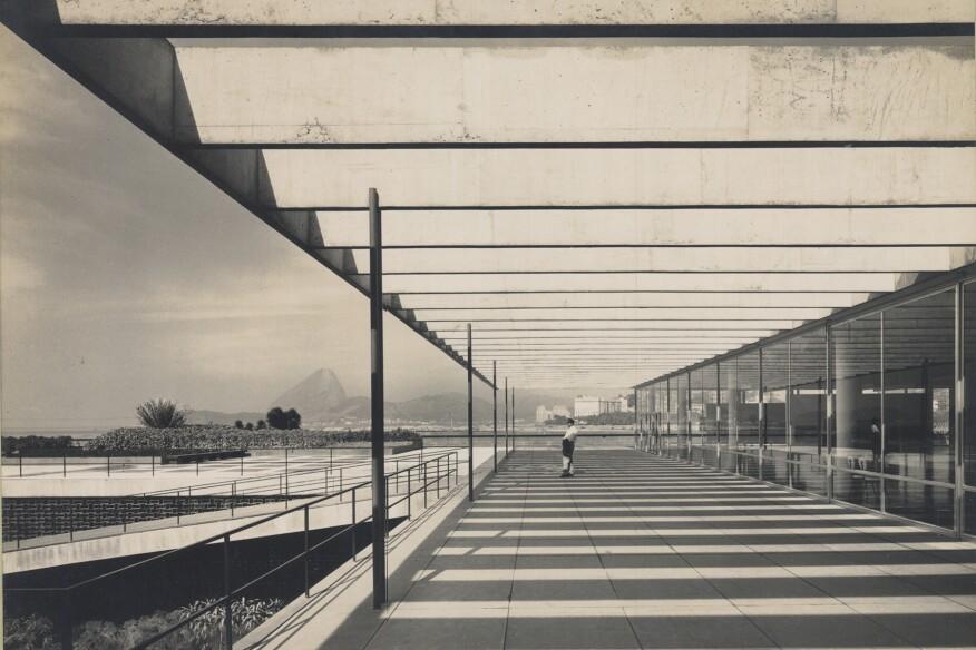 Affonso Eduardo Reidy. Museum of Modern Art of Rio de Janeiro (MAM), Rio de Janeiro, Brazil, 1934-1947.