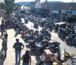 The week-long Sturgis Motorcycle Rally—which takes place every August—attracts a crowd nearly 10 times the size of Sturgis, S.D. Photo: Sturgis Motorcycle Rally