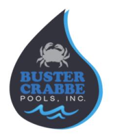 Aquasports/Buster Crabbe Swimming Pools, Inc. Logo