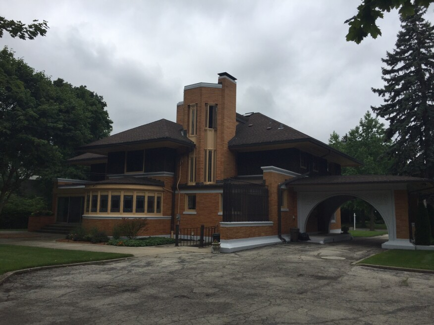 Winslow House, River Forest, Ill., by Frank Lloyd Wright