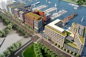 The Wharf: Southwest Waterfront in Washington, District of Columbia by Perkins Eastman.