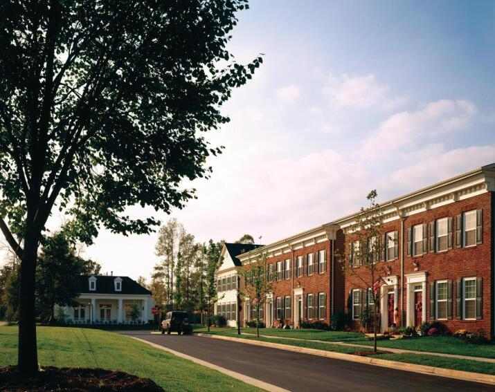 Ten-Hut: Herryford Village at the U.S. Army's Fort Belvoir, Va., won a 2007 Builder's Choice Merit Award among mixed-use communities for its innovative take on military housing--an example of the firm's diversified and public-private partnership approach to that segment that has so far spanned 10 years and more than 20,000 housing units.