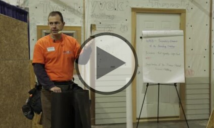 Part 2As we've evolved from using tar paper to housewrap beneath siding, the need to educate ourselves on installation best practices has never been greater. Watch video
