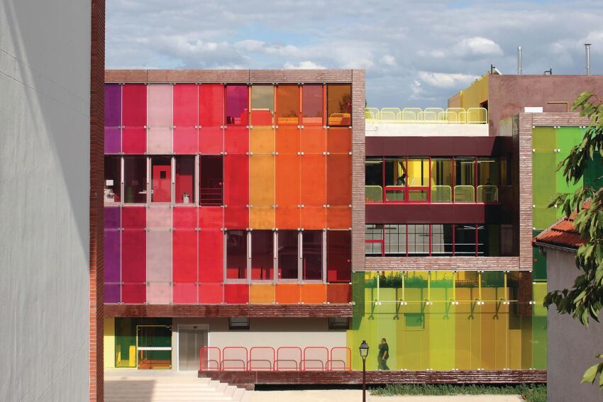 Youth Center and Sports Complex, Saint-Cloud, France