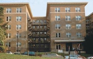 Community Development Preservation Corp. and Michaels Development Co. spent $16 million to renovate the troubled Clifton Terrace complex in Washington. The three buildings, now known as Wardman Court, are expected to be completed by the end of 2003.Jennifer Johnston